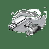 Tlmič výfuku - kompletné zariadenie